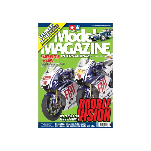 Tamiya Model Magazine International April 2011