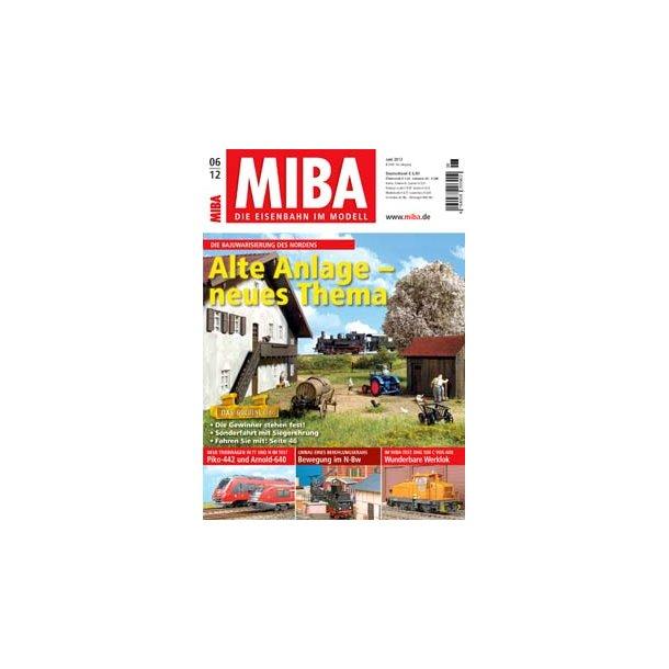 MIBA Die Eisenbahn Im Modell Juni 2012