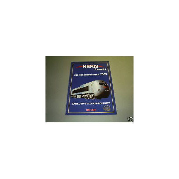 Heris Journal 1 2003