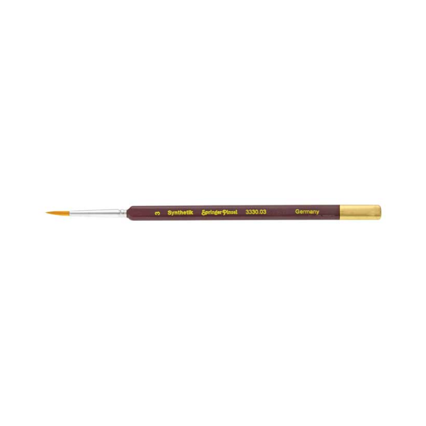 Trekantpensel SP3300 Syntetisk str. 3/0